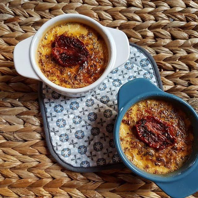 Recette diététique crème brulé tomate
