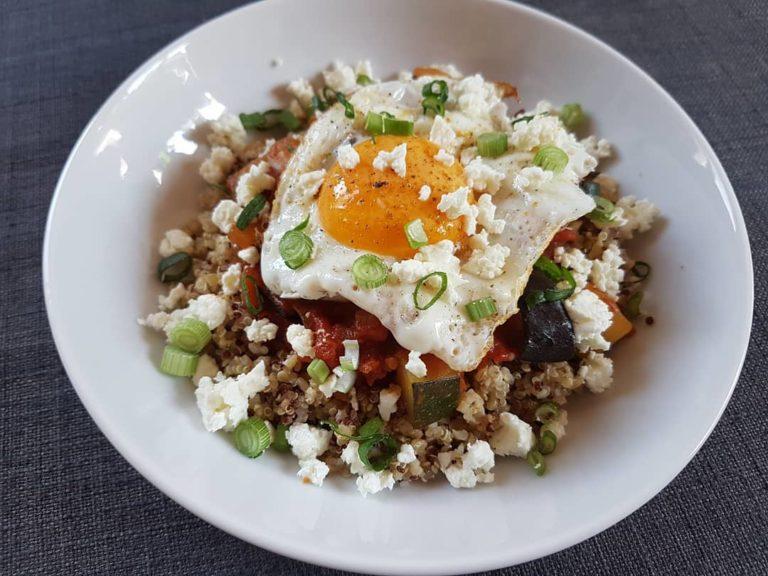 Recette quinoa méditerranéen