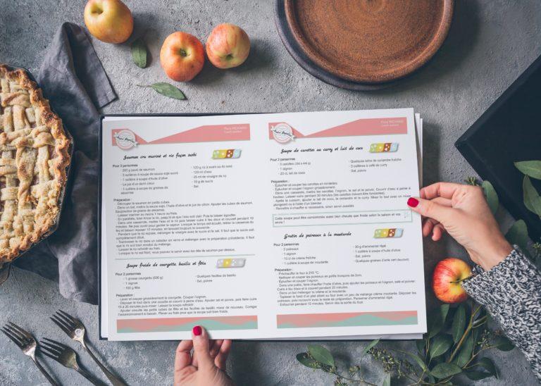 Fiche recette papier