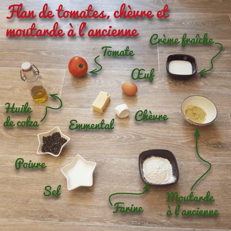 Ingrédients Flan de Tomates-2