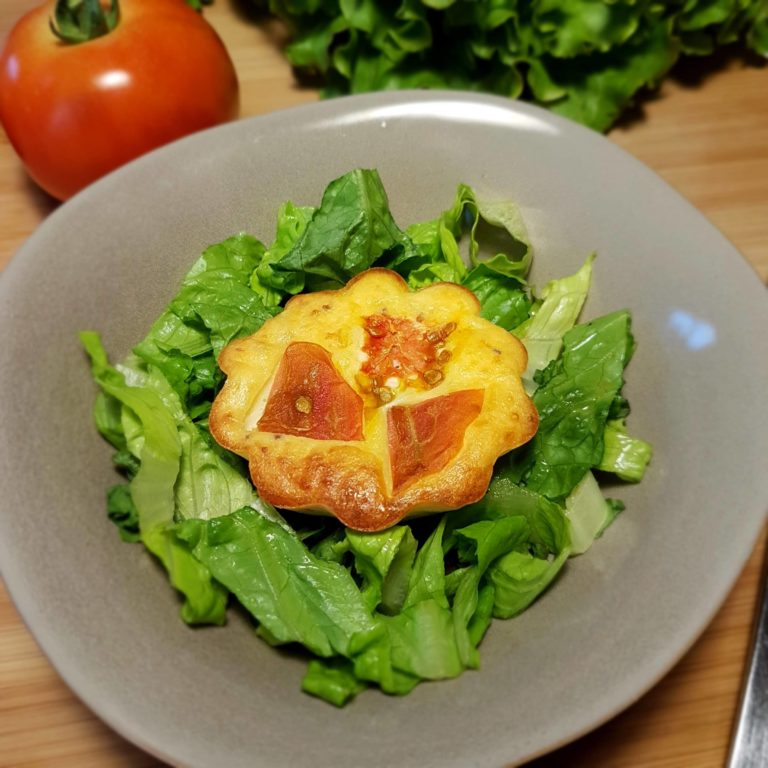 Recette Flan de Tomates, chèvre et moutarde à l'ancienne