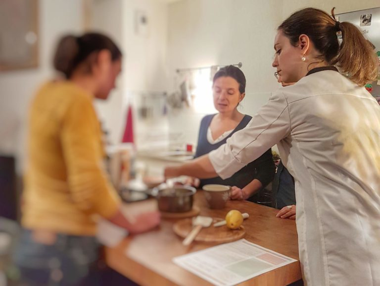 Cours de cuisine a domicile