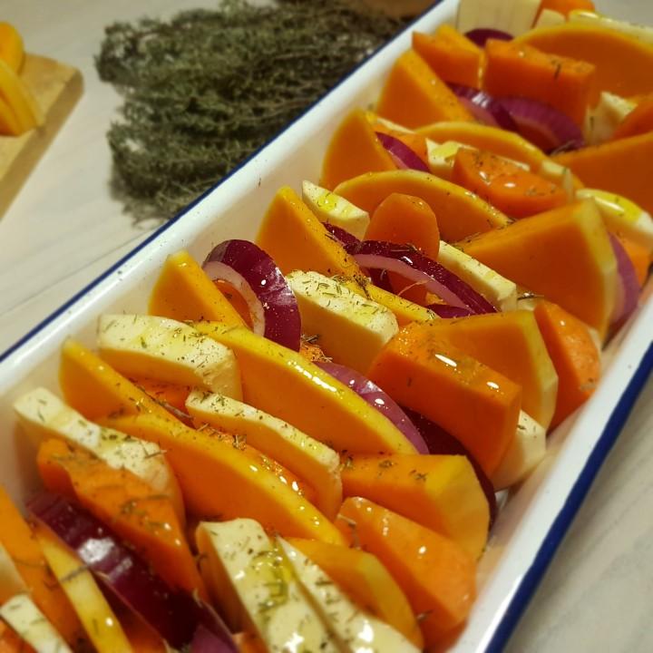 Recette tian de légumes d'hiver